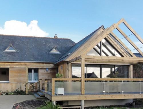 Rénovation extension d'une maison à Erquy
