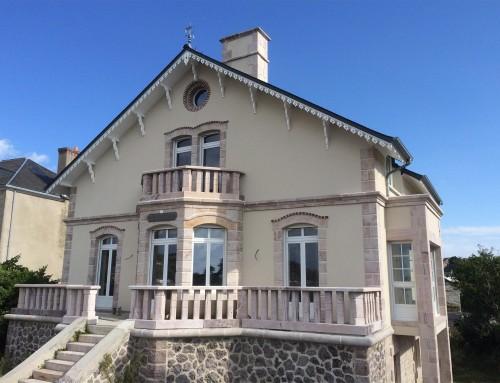 Rénovation et restructuration d'une maison à Erquy